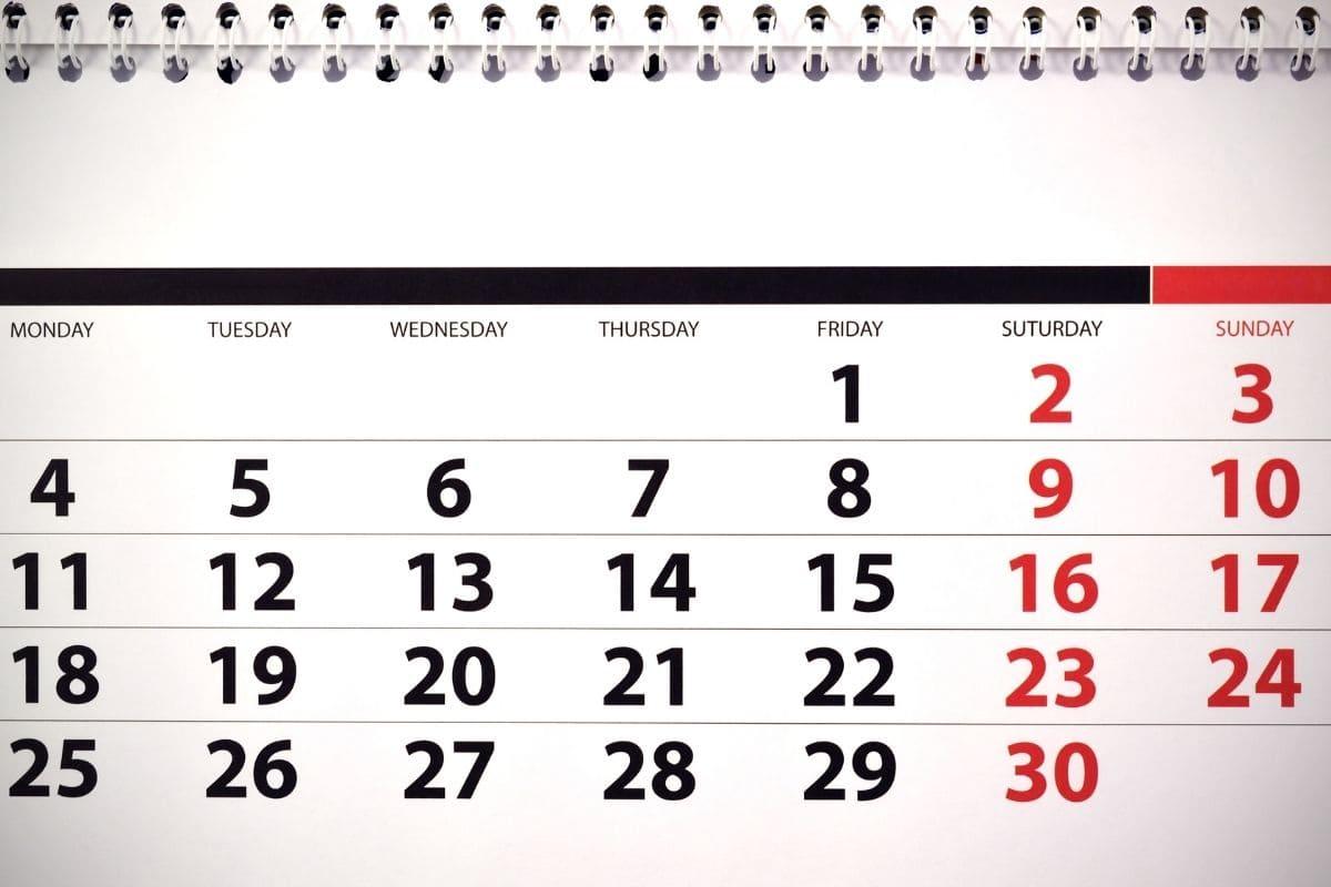 土日と外国の祝日は取引不可