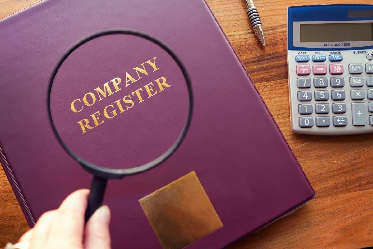 有限責任会社法に基づいて登録されている企業