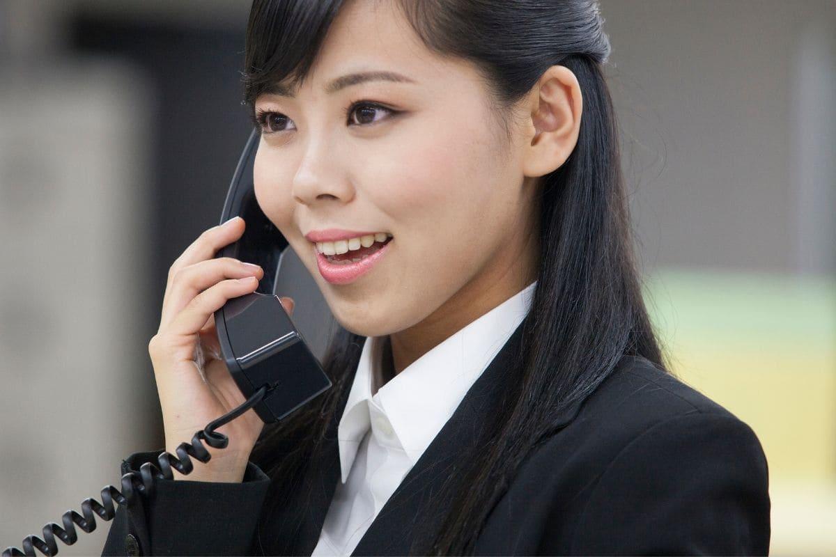 日本人スタッフによる電話応対も可能
